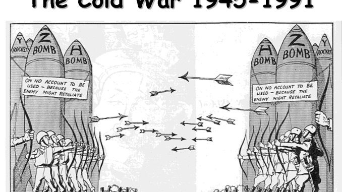 cold war essay thesis In 1991, the soviet union collapsed and america won the cold war we did not  understand at the time how much winning the war would.