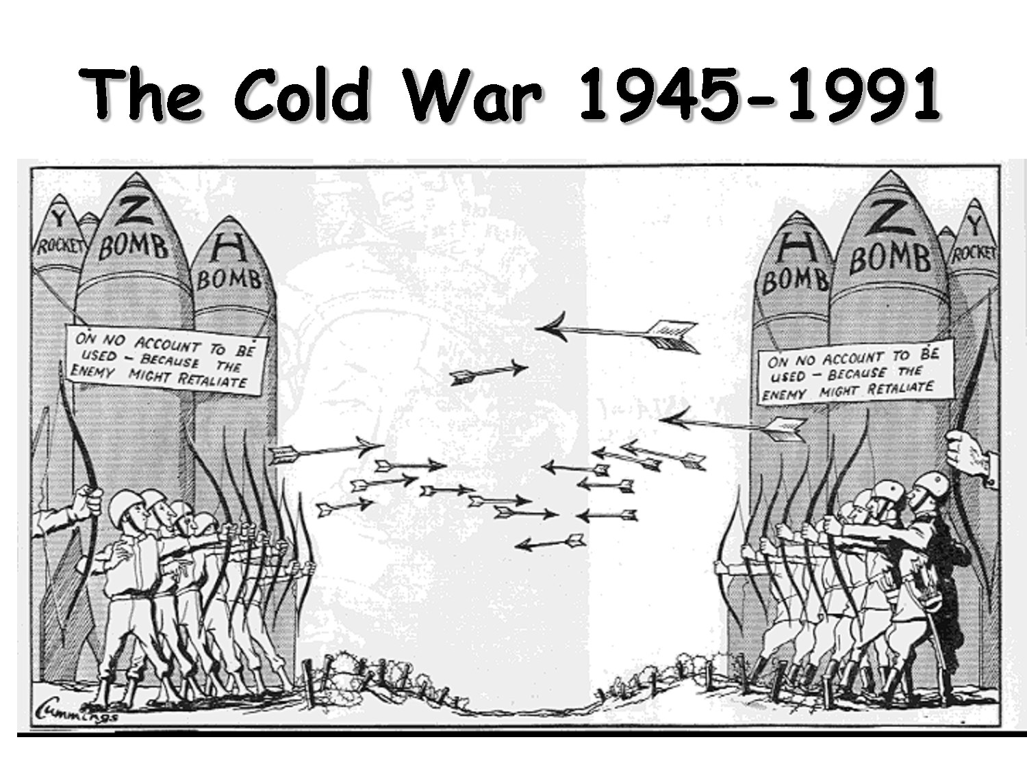 an analysis of the tension in the cold war between united states and ussr In this lesson we will look at the role the united states and the soviet  throughout the cold war, tension between the  war, especially early on, the united .