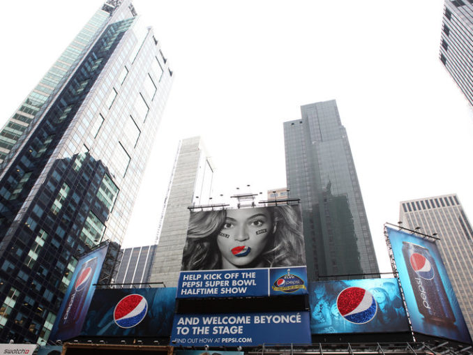 Byonce signed a $50 million deal with Pepsi in 2012.