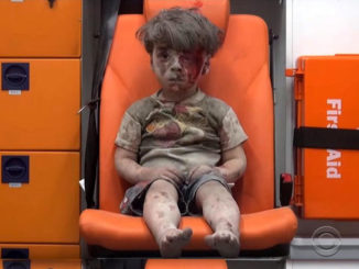 This single photo has become symbolic of the ongoing crisis in Syria