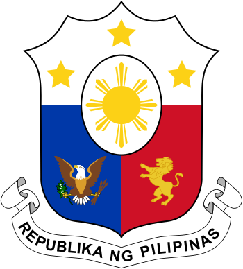 English: Coat of arms of the Philippines