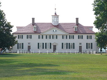 Mount Vernon, located near Alexandria, Virgini...