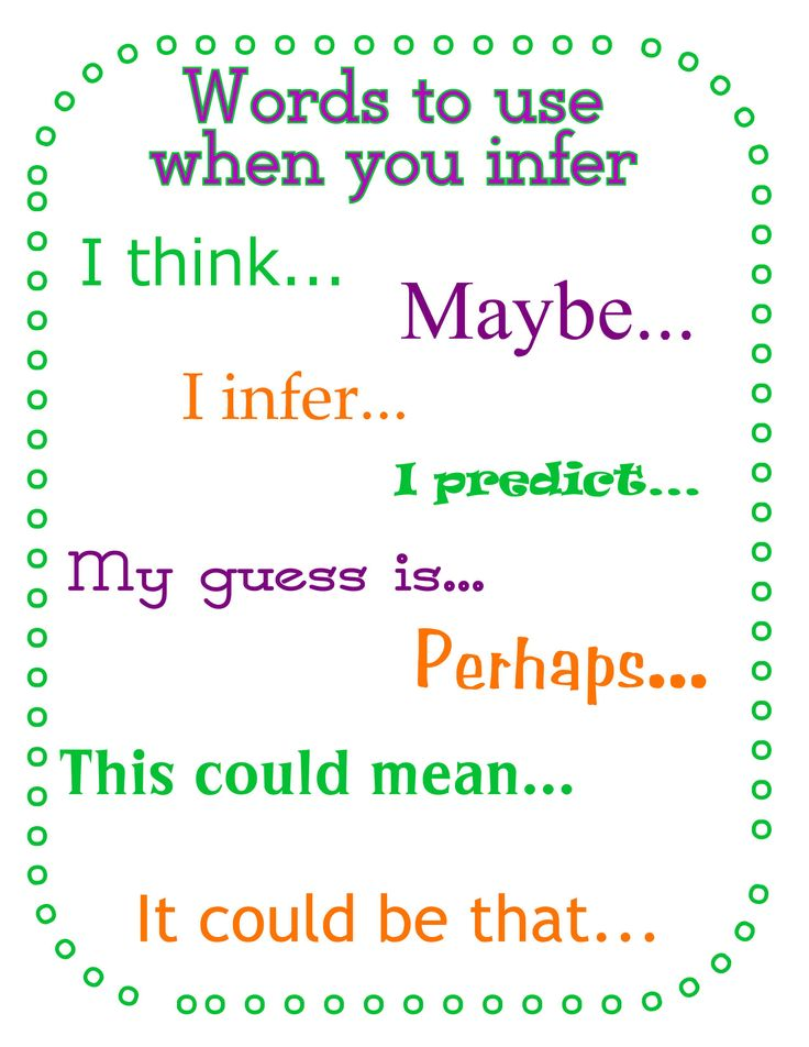 Image result for Inference thinking stems