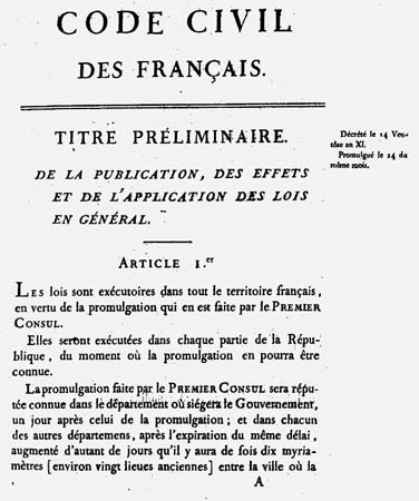 Image result for napoleonic code