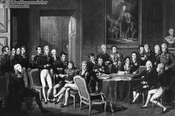 Image result for congress of vienna painting