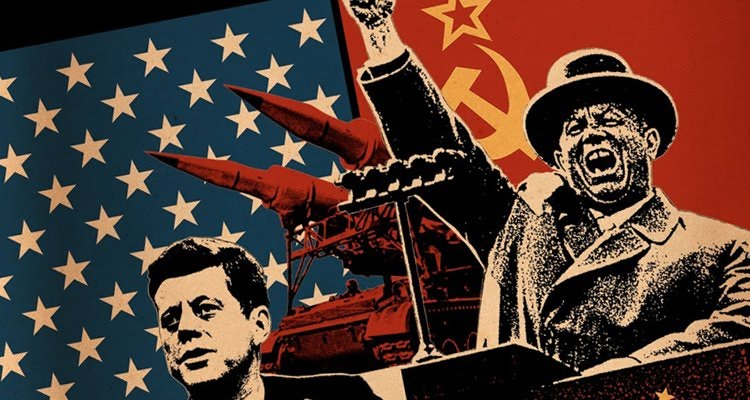 Kennedy+and+Kruschev+faced+off+in+brinksmanship+with+the+Cuba+crisis.
