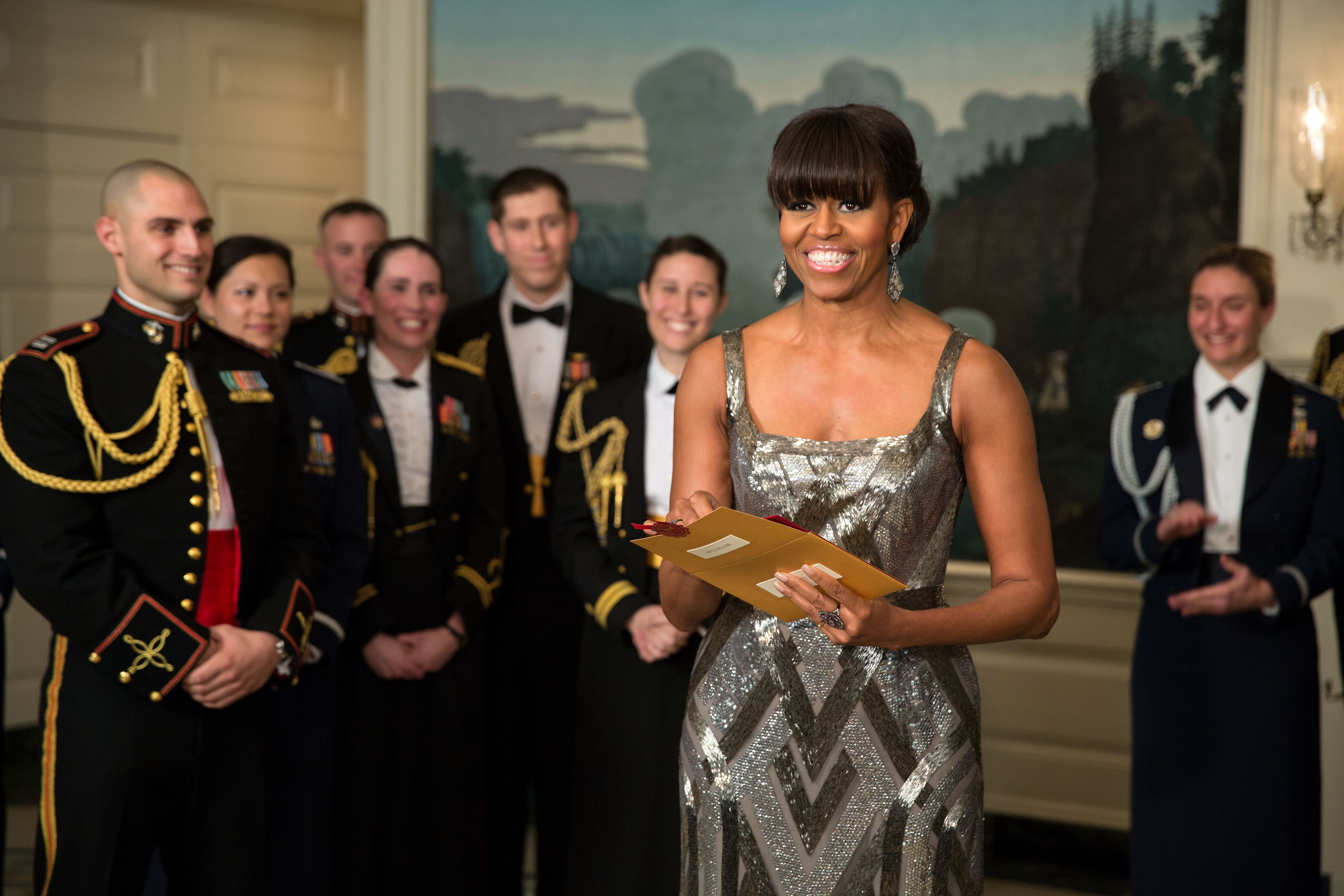 Image result for michelle obama 2012 awards argo