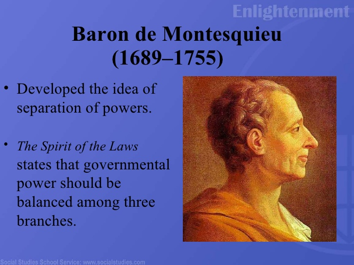 Image result for montesquieu ideas of enlightenment