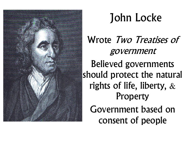 Image result for john locke rights to life liberty and property
