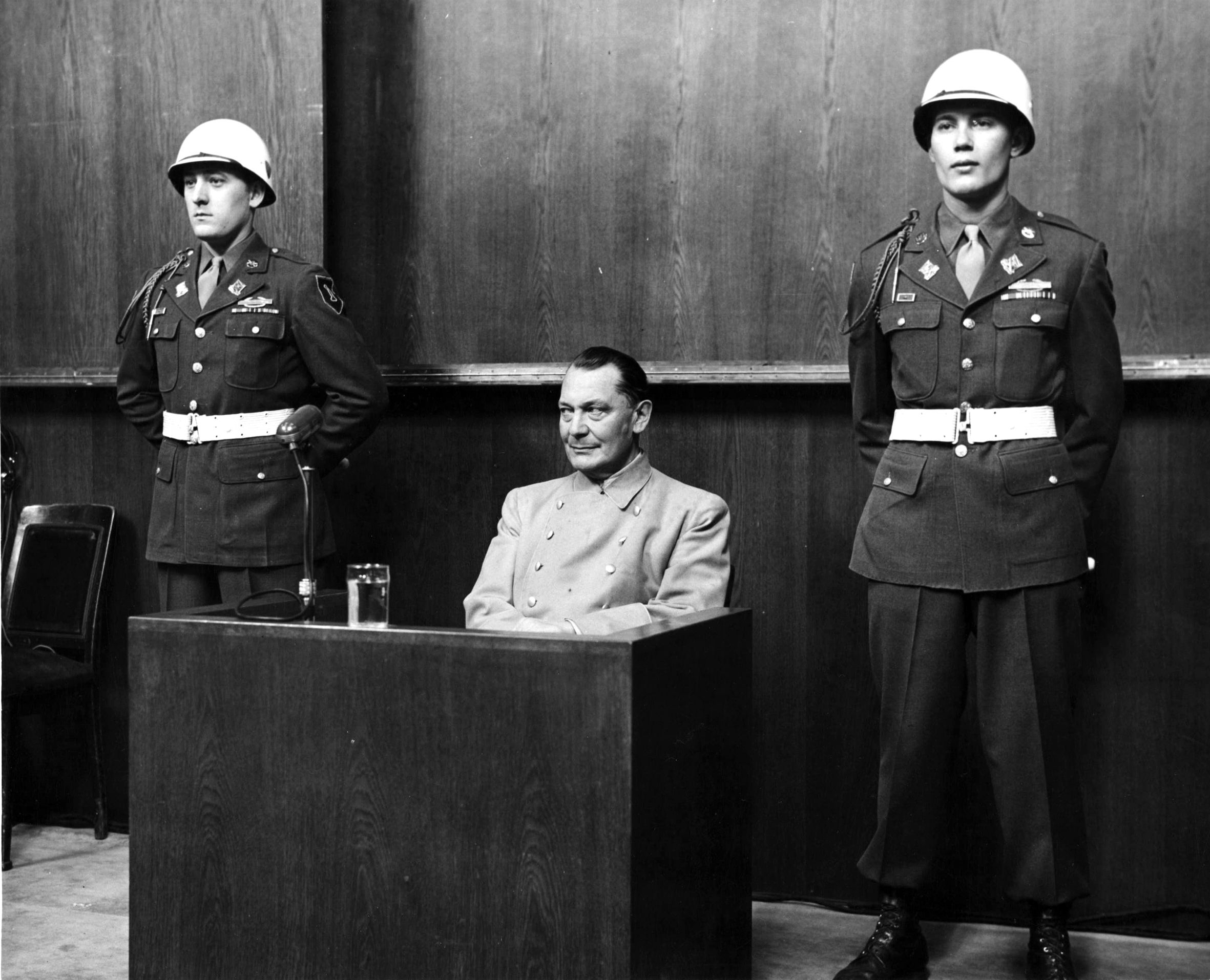 an overview of the infamous trials at nuremberg Apart from the more well-known nuremberg and tokyo trials, hundreds of other war crimes trials were organised by individual allied powers after the war from 1946 to 1948, the british tried over 400 accused linked to the japanese military in singapore for war crimes committed not only in singapore.