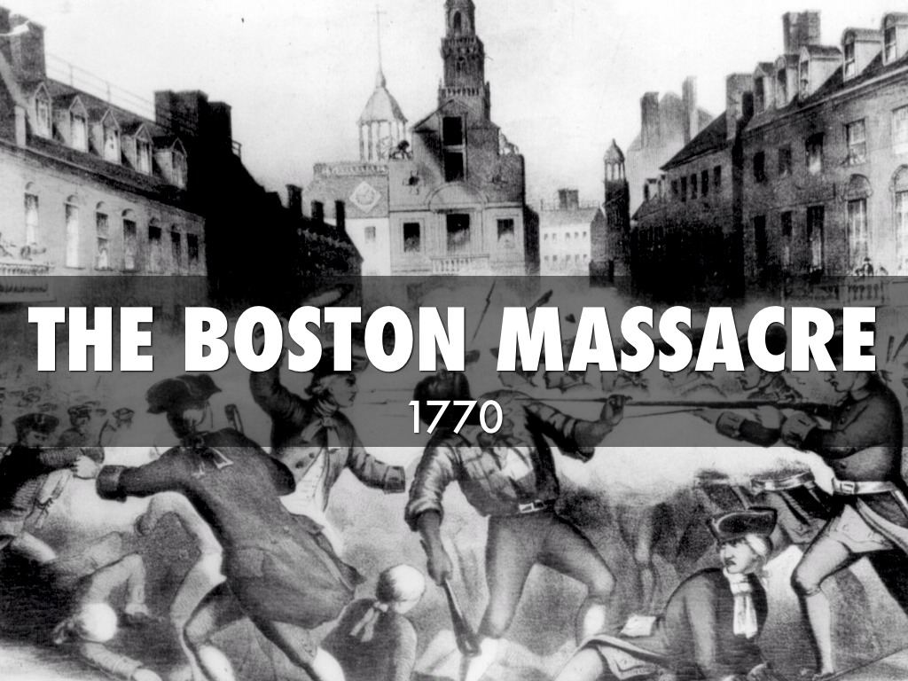 boston massacre The name boston massacre sounds as though it was the slaughter of a bunch  of innocents in colonial boston the reality is much smaller.