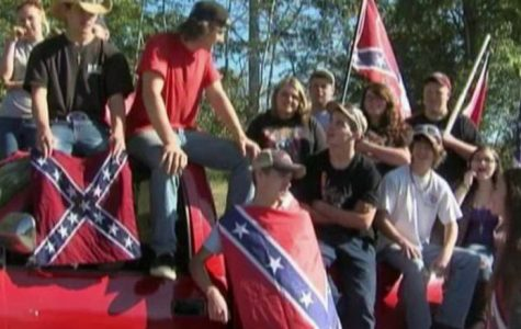 Virginia Students Protest The Ban of The Confederate Flag