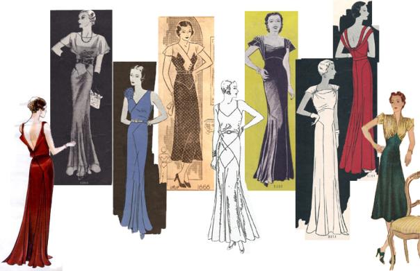 1940 evening dresses