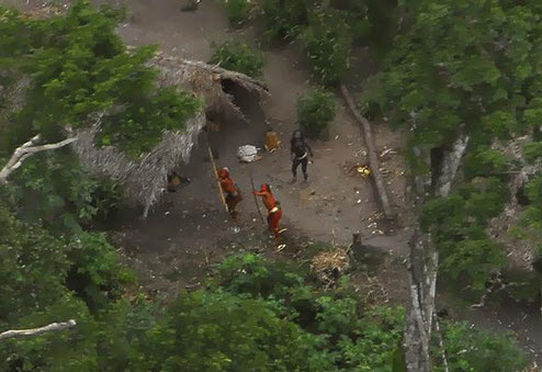 Video of Modern Day Uncontacted Tribes