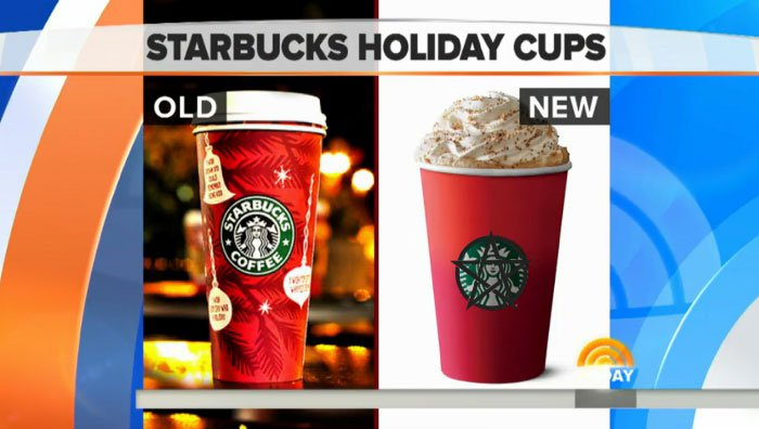 1st Amendment Controversy Over Plain Red Starbucks Cups – Mountain ...