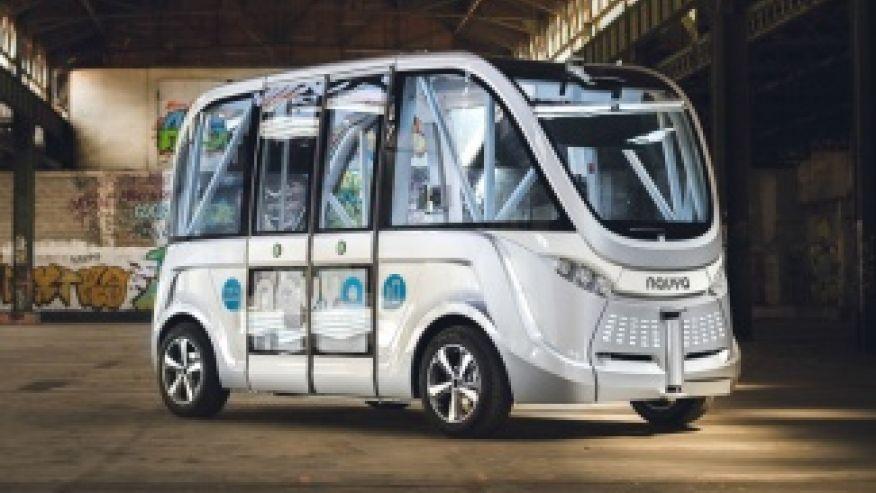 First+Autonomous+Buses