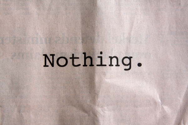 THE NOTHING THAT IS Book Review