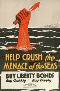 The Poster pictured above influences americans to buy liberty bonds to support the U.S. in World War 1.