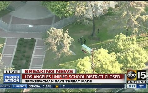 L.A. Schools Closed with Threat