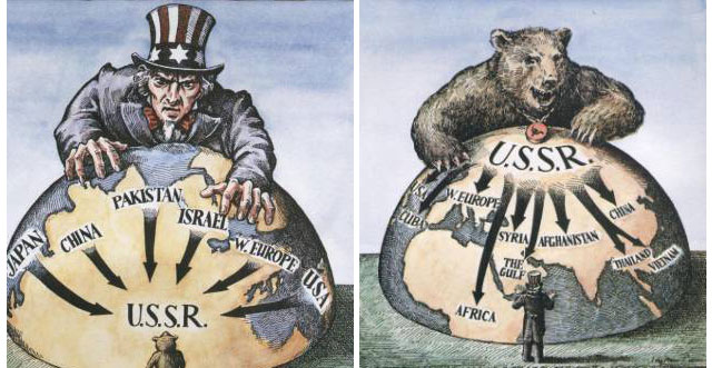 a comparison of united states propaganda and reality Smart ideas: in europe, propaganda versus reality on immigrants united states support for unrwa president trump has threatened to scuttle the nuclear agreement unless congress and european states fix it.