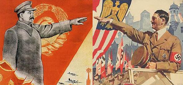 Mussolini and Hitler had an alliance against the United States.  The American enemy during World War II was Germany and Italy and Japan.