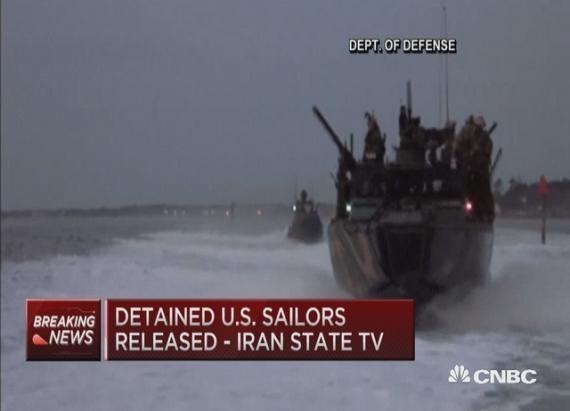 Iran Released US Sailors