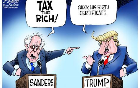 Emotion, Ego & Wealth in politics: Trump vs Sanders