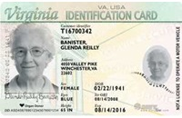 Need a Photo ID?  Get a Virginia State ID!  It's EASY!