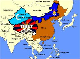 Ethnic region under china's control.