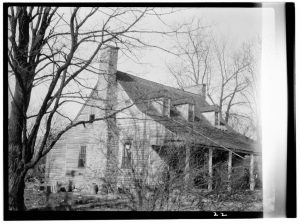 Old picture of Mt. Gilead house right after the Civil War