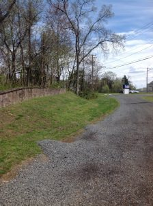 The original Braddock road started as a Native American trail and became a colonial road through the mountains of western Virginia.