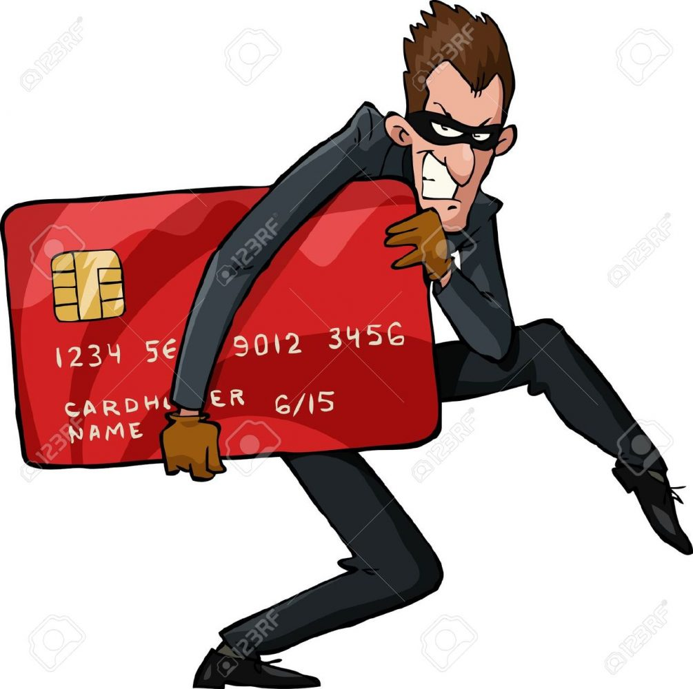 $13 million lost by robbery using fake credit cards.