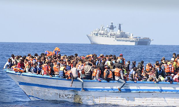 Libyan+Migrants+Face+Hardships+Crossing+to+Europe
