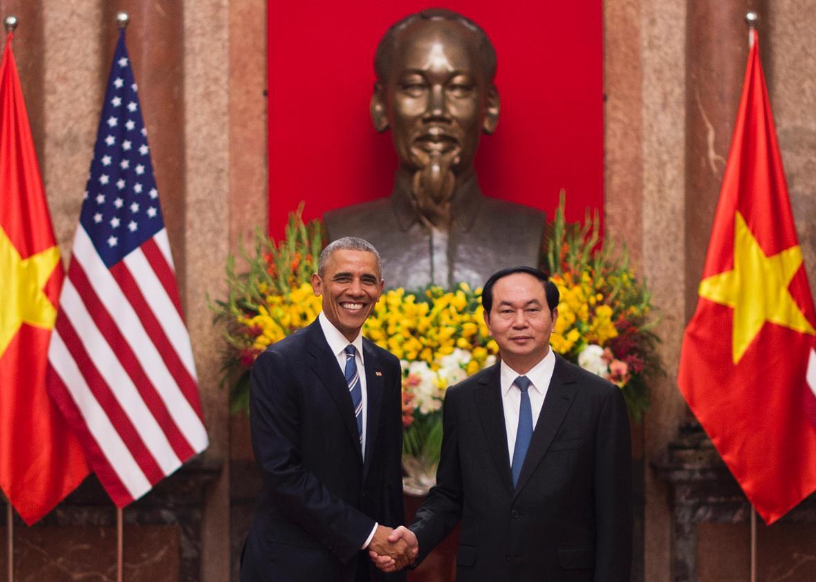 President Obama's American Diplomacy in Vietnam