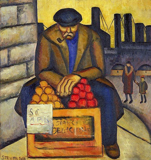Barbara Stevenson Apple Vendor 1933-1934