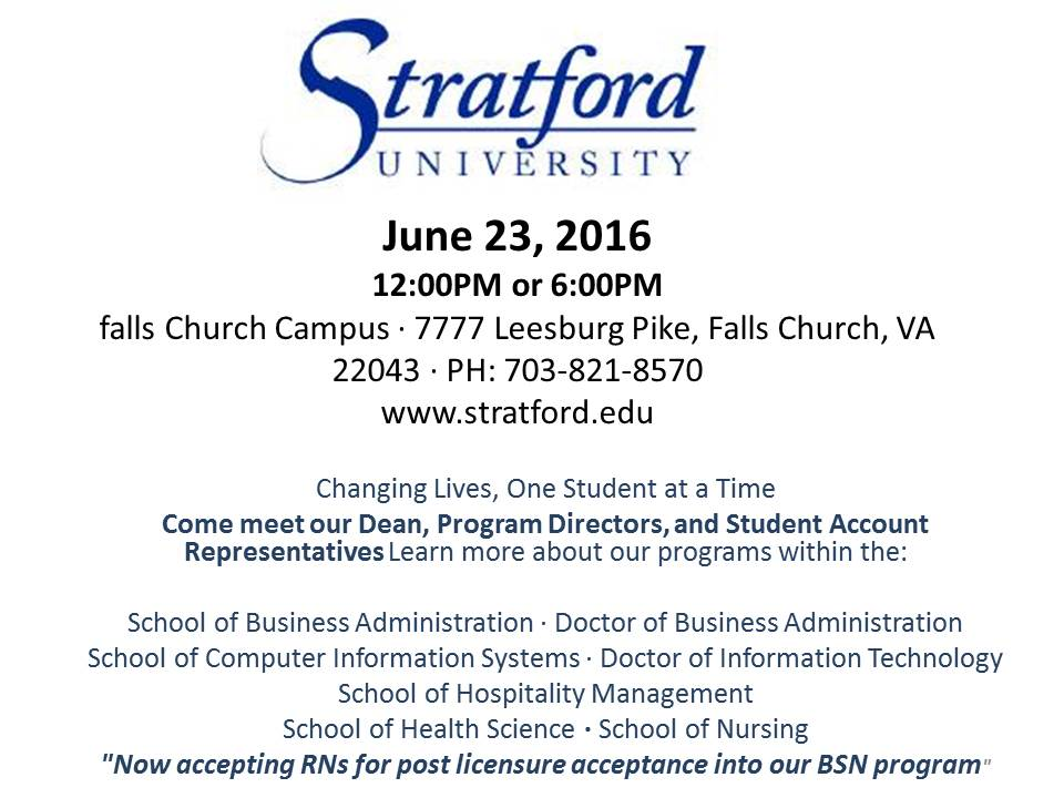 Stratford+University+Open+House+June+23rd%21