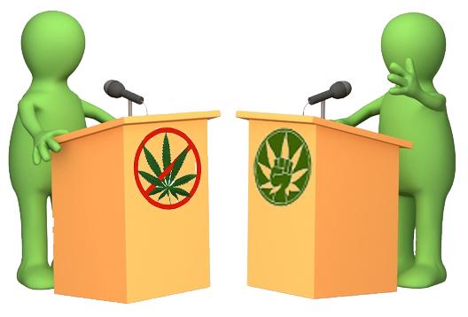 Voters Debate Marijuana