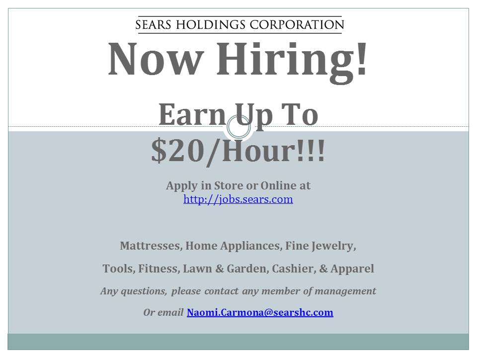 SEARS+JOB+FAIR+on+OCT+7th