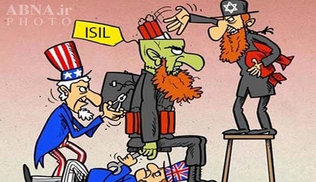 An artist perception of state-sponsored ISIL Takfiri terrorism