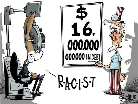 Image result for racism after the election political cartoon