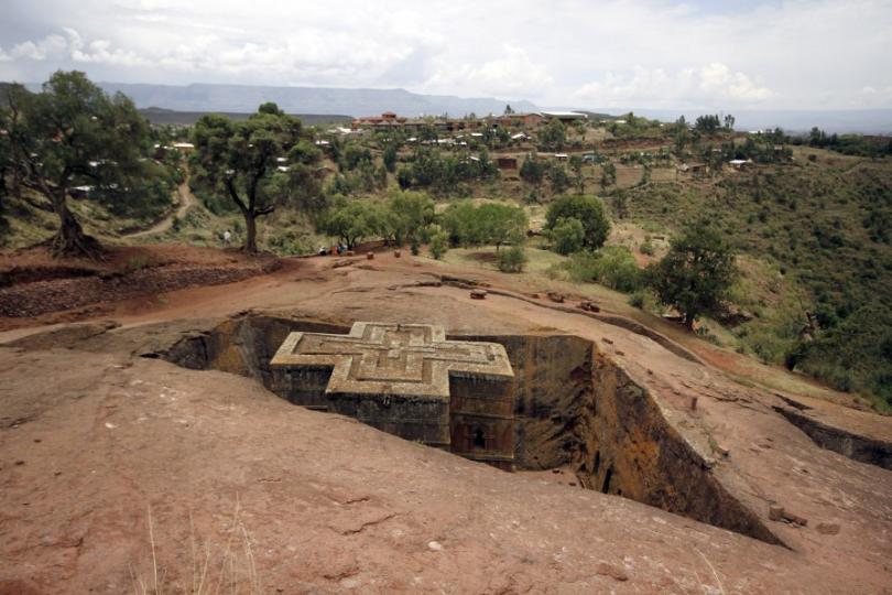Bet Medhane Alem Rock Church, Ethiopia