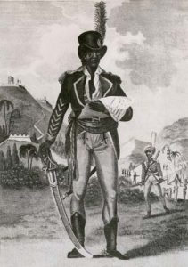 I took up arms for the freedom of my color. It is our own - we will defend it or perish. Was a Revolutionarie Was a Jacobin The head of the slave revolt in haiti around the 1820's. Robespierre inspired Toussaint to rise up against The French leader Napolean's forces that were operating them. The revolution that Toussaint lead was bloody as well. His military genius and political acumen (quick decisions) led to the establishment of the independent black state of Haiti, transforming an entire society of slaves into a free, self-governing people.