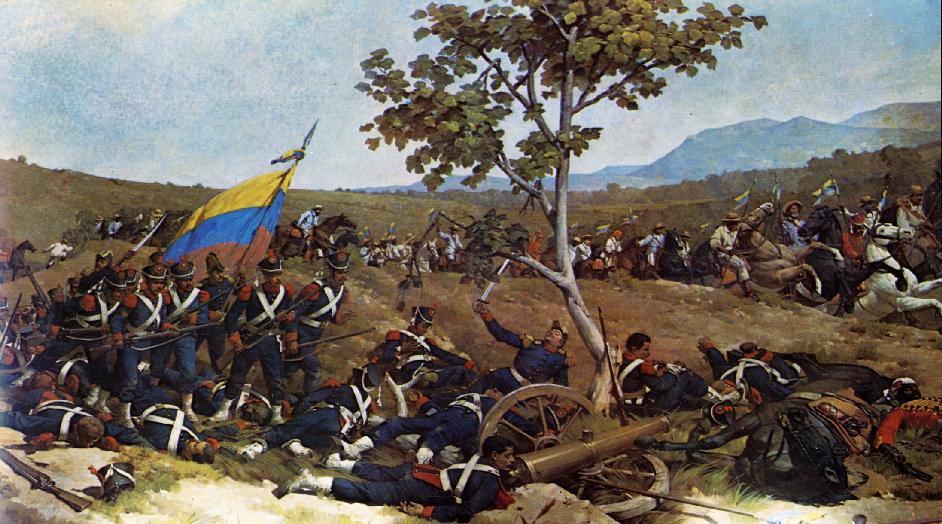 Image result for venezuelan war independence art