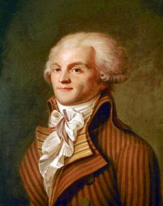 """Robespierre """"The king must die so that the country can live""""Was a Revolutionarie the French Revolution was influenced by Enlightenment ideals, particularly the concepts of popular sovereignty and inalienable rights. Robespierre was the head of the bloody french revolution of the late 1790's. As an orator (public speaker), he praised revolutionary government and argued that the Terror was necessary. Robespierre encouraged the execution, mostly by guillotine, of more than 17,000 enemies of the Revolution."""