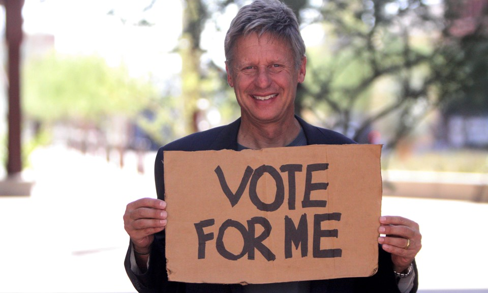 Gary Johnson for the Win