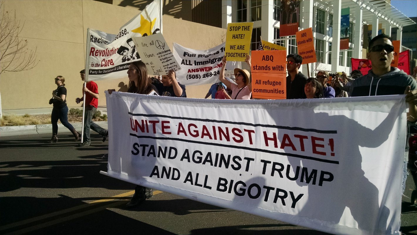 Image result for united against hate trump