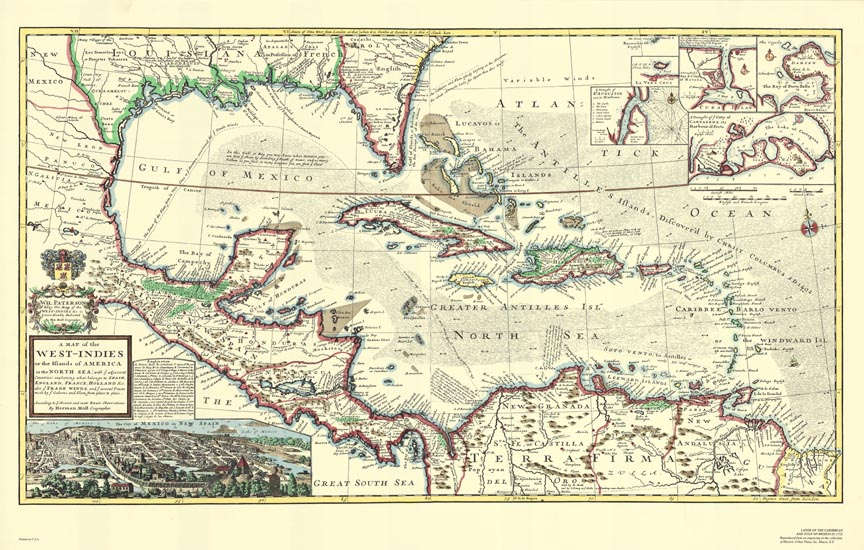 Image result for haiti old map pirates