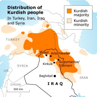 Image result for kurdistan map