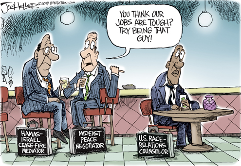 Image result for political cartoon race relations 2016