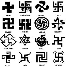 Ancient Symbols: The Swastika in different cultures. Many believe that the symbol originated in the ancient Sumerian civilisation (5300-1940BC).